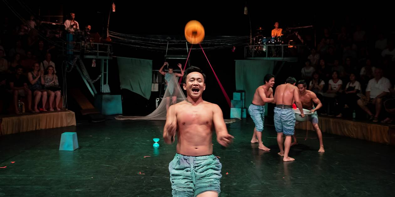 Le cirque de Phare Ponleu Selpak - Siem Reap - Cambodge