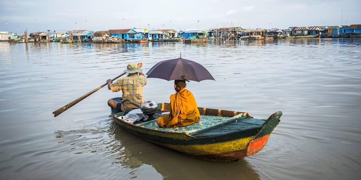 Sur le lac Tonlé Sap - Cambodge
