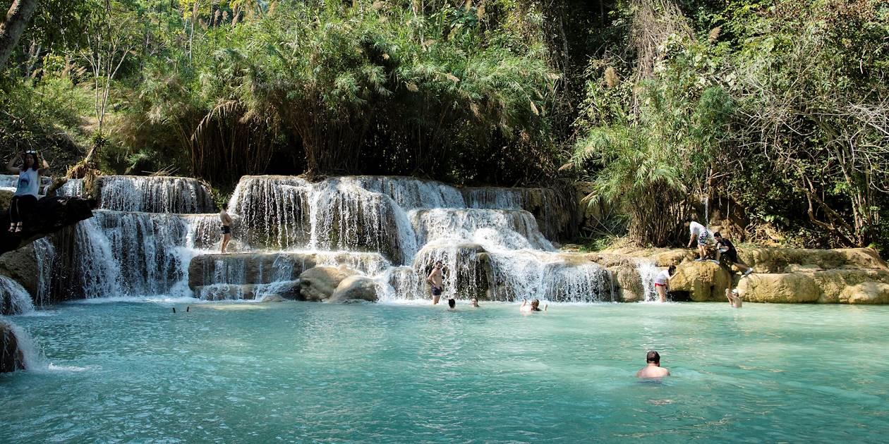 Les chutes de Kuang Si - Laos