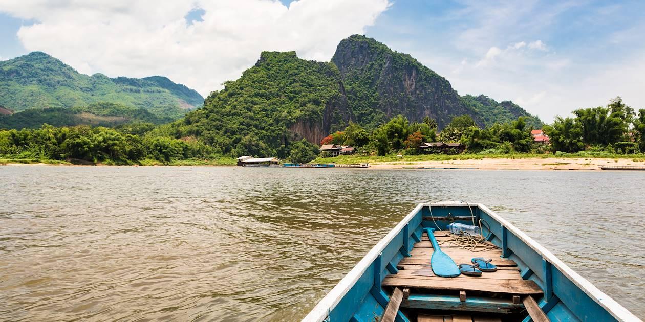 Sur le Mékong - Province de Luang Prabang - Laos