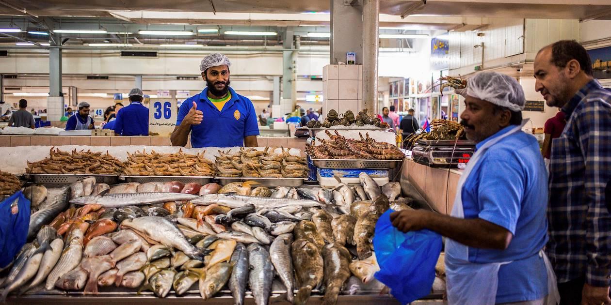 Le marché aux poissons - Abou Dhabi - Emirats Arabes Unis