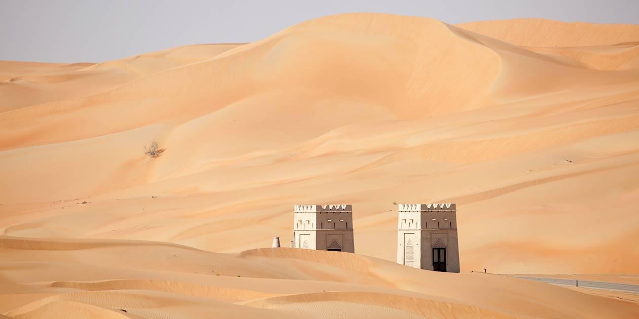 Porte dans le désert de Liwa - Emirats Arabes Unis