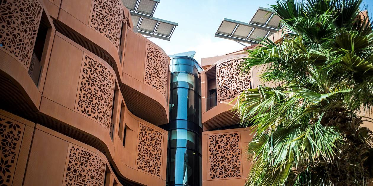 Masdar City : ville nouvelle et écologique - Emirats Arabes Unis