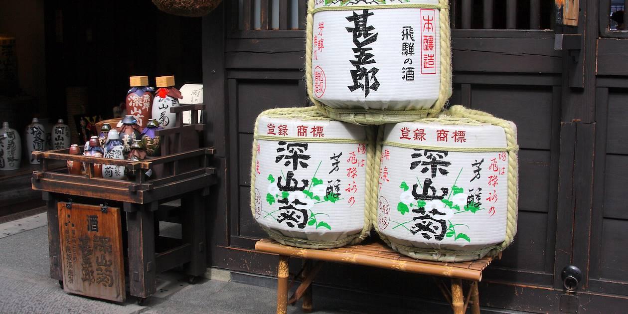 Barriques de saké - Japon