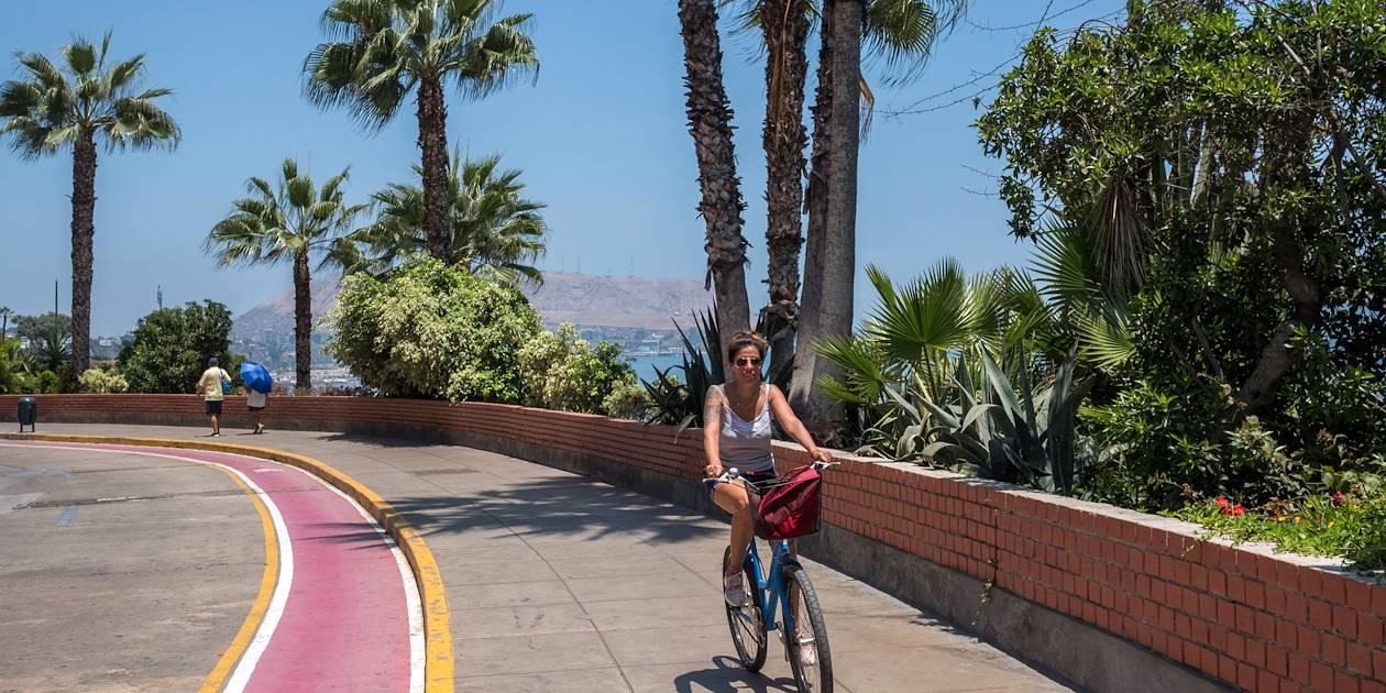 Balade à vélo - Lima - Pérou