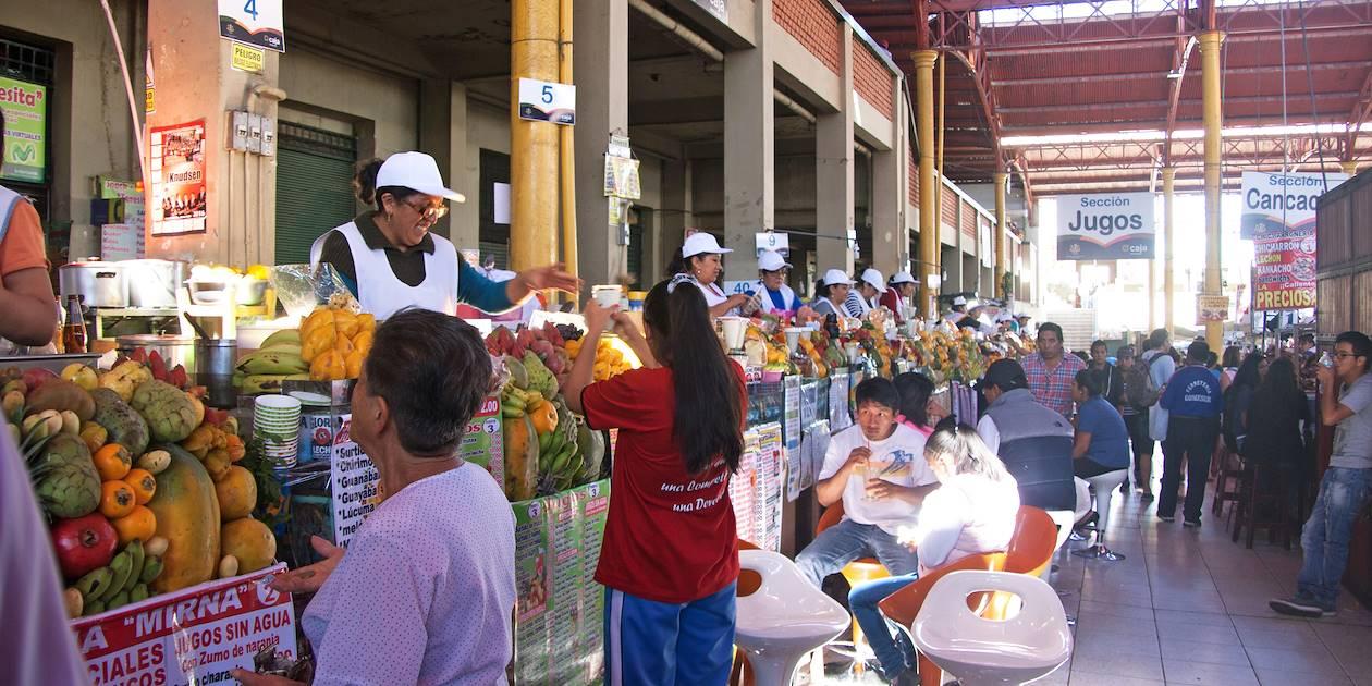 Sur le marché d'Arequipa - Province d'Arequipa - Pérou