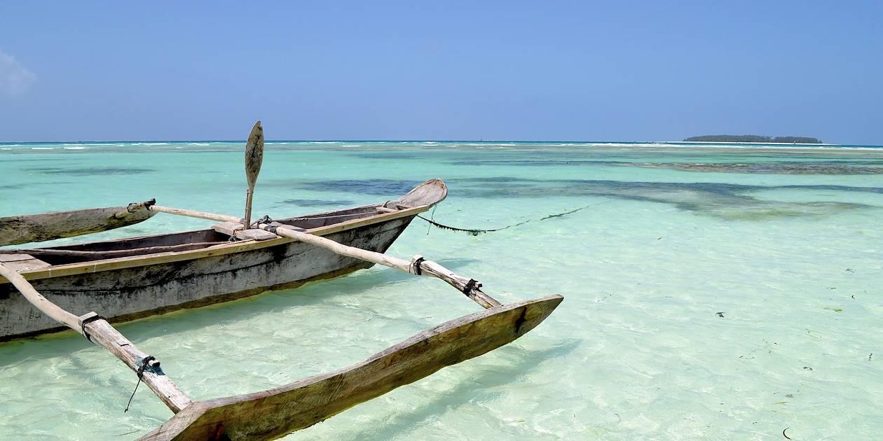 Bateau de pêche traditionnel - Pemba Island - Tanzanie