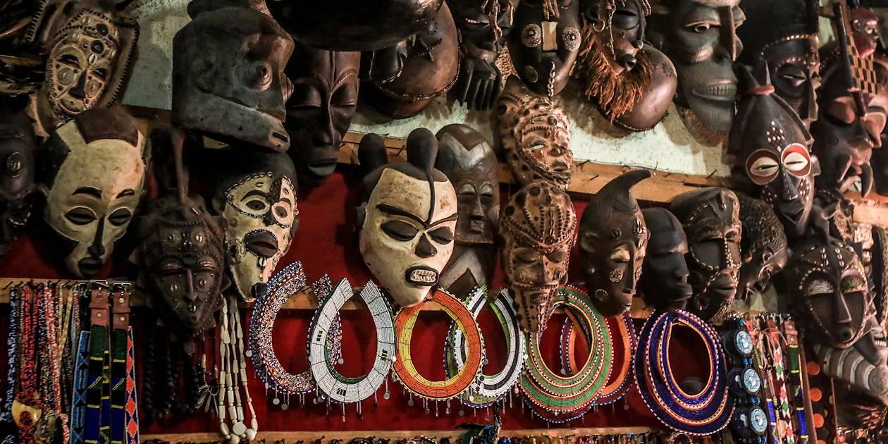 Masques et bijoux africains - Zanzibar - Tanzanie