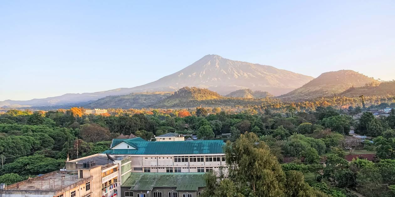 Lever de soleil sur le Mont Méru - Arusha - Tanzanie
