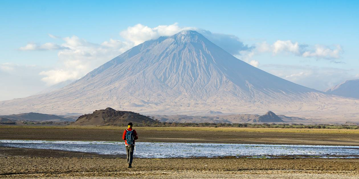 Ol Doinyo Lengai, volcan près du Lac Natron - Tanzanie