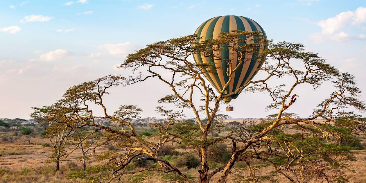 Survol de Serengeti, en montgolfière - Parc du Serengeti - Tanzanie