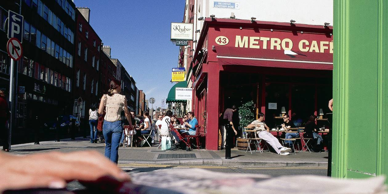 Dans les rues de Dublin - Irlande