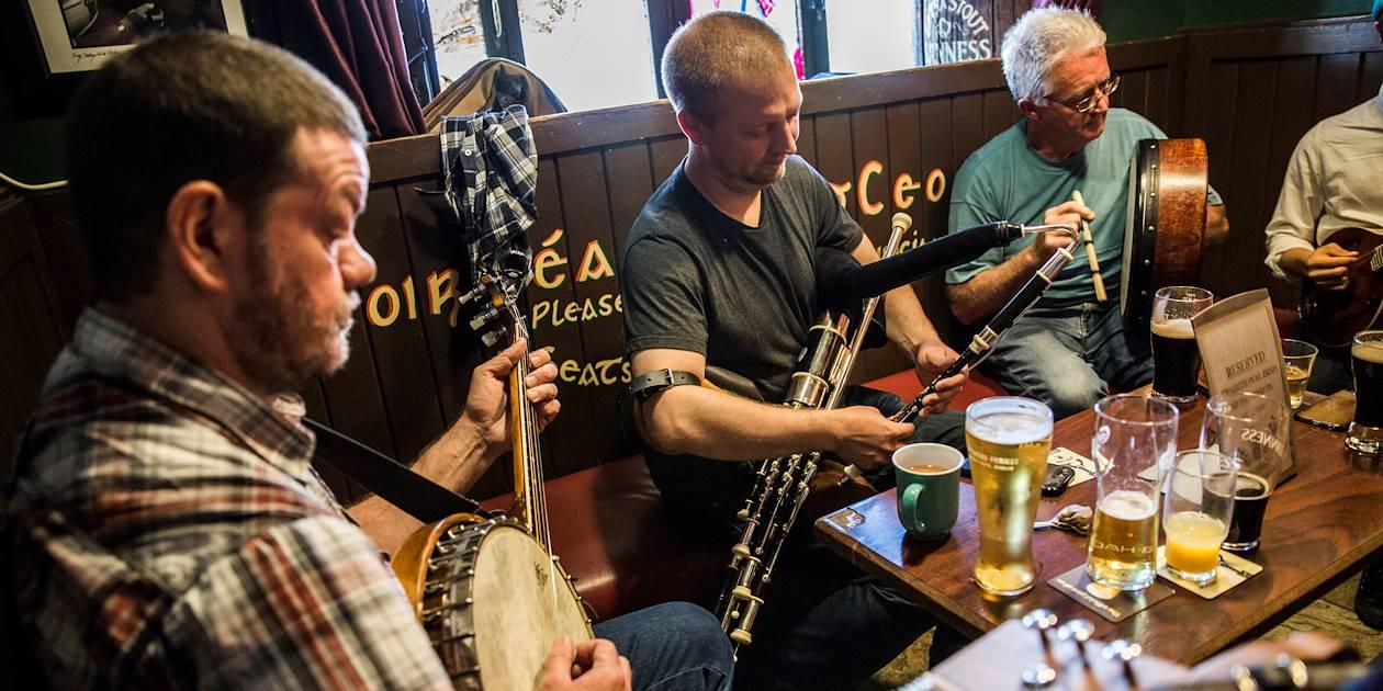 Une soirée comme un irlandais - Galway - Irlande