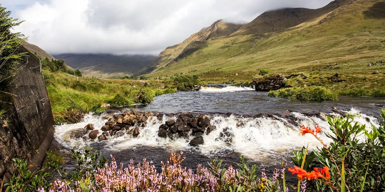 Riviere Bundoragha - Delphi - Comté de Mayo - Irlande