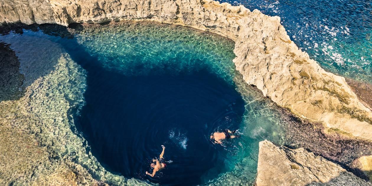 Trou Bleu - Ile de Gozo - Malte