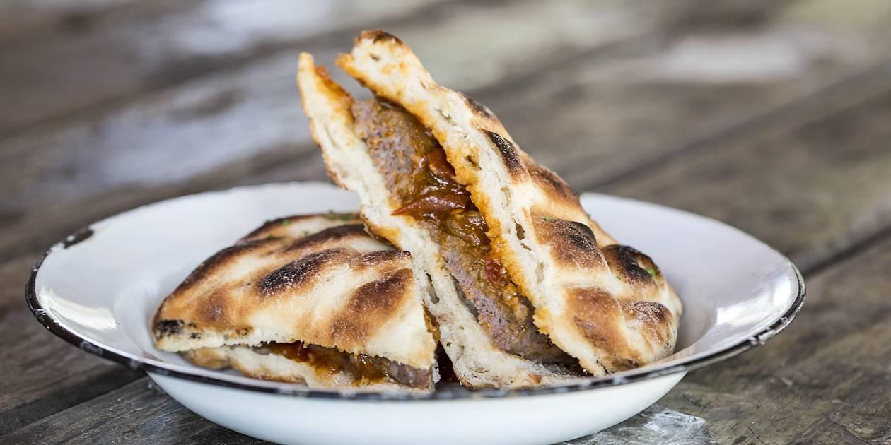 Sandwich de boerewors - Afrique du Sud
