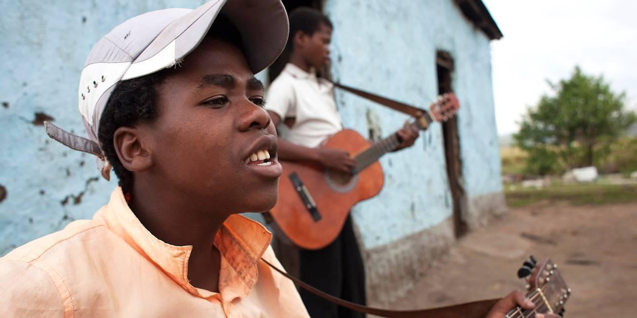 Jeunes musiciens - Port St Johns - Afrique du Sud