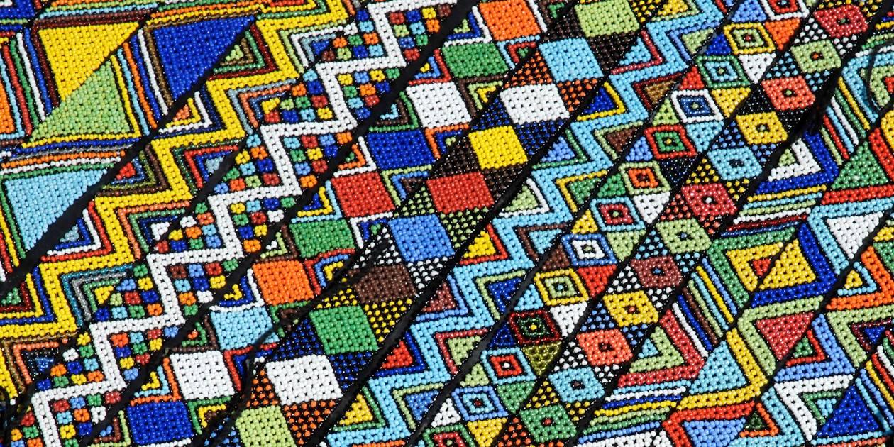 Bijoux traditionnels zoulou - Afrique du Sud