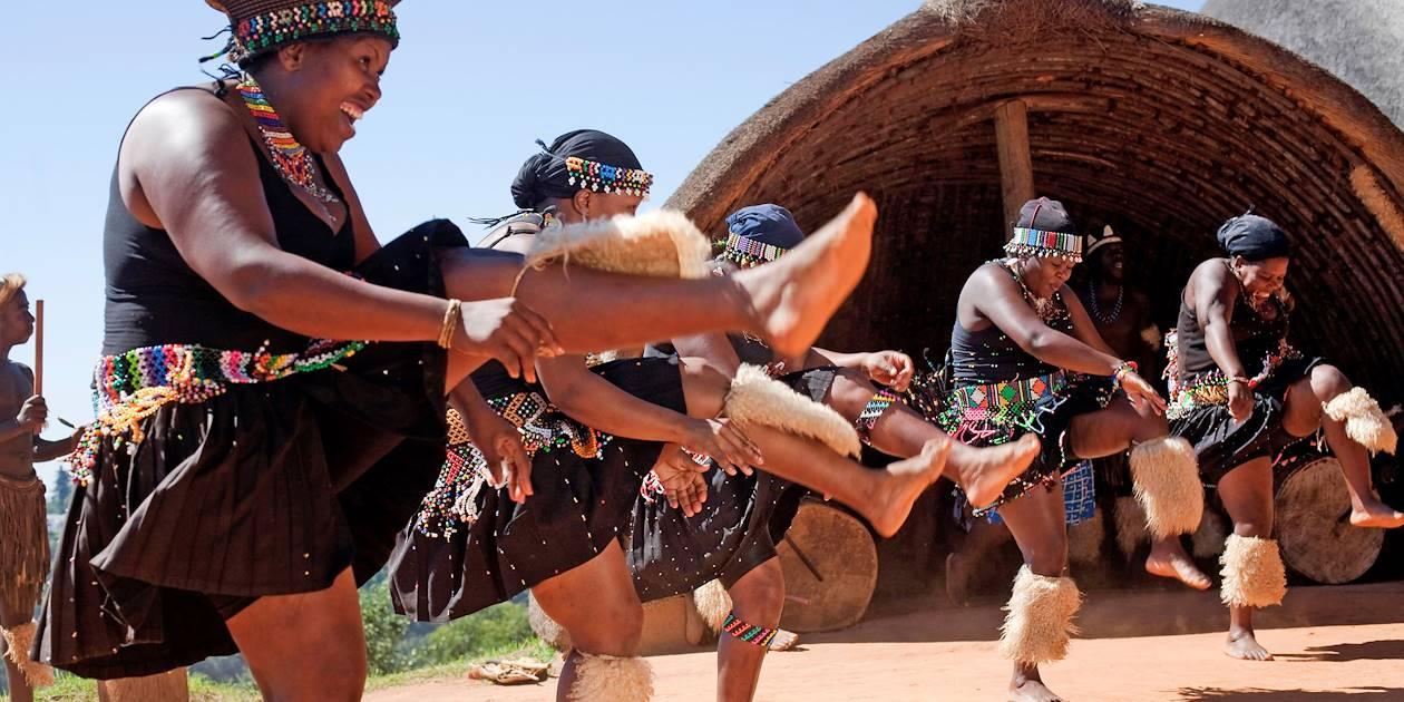 Danseuses zoulous - Afrique du Sud