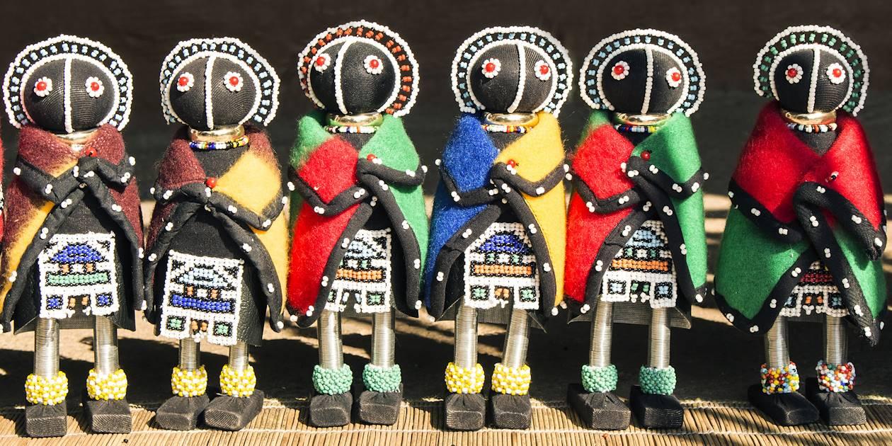 Poupées Ndebele artisanales - Afrique du Sud