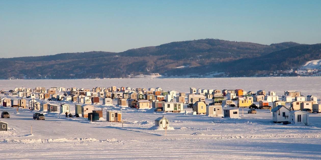 Petites cabanes de pêcheurs - Saguenay - Québec - Canada