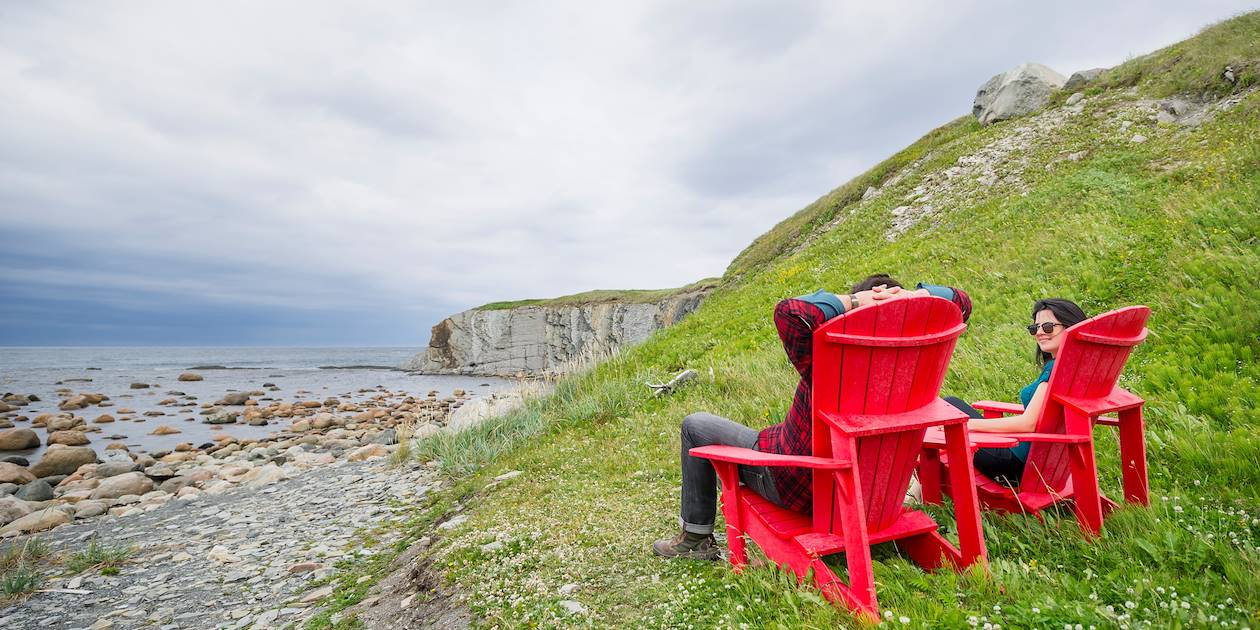 Moment de détente dans le Parc national du Gros-Morne - Terre-Neuve-et-Labrador - Canada