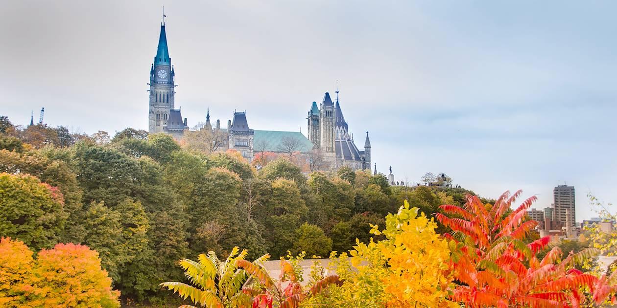 Vue générale - Colline du parlement - Ottawa