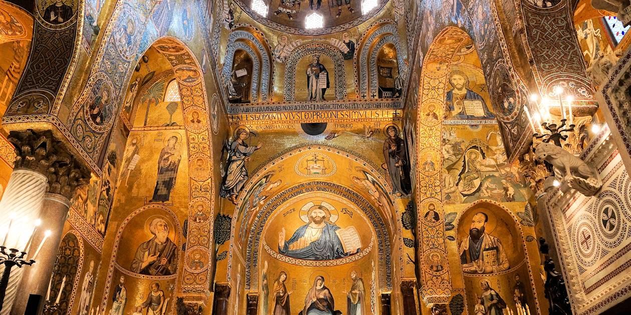 Chapelle palatine de Palerme - Région Sicile - Italie