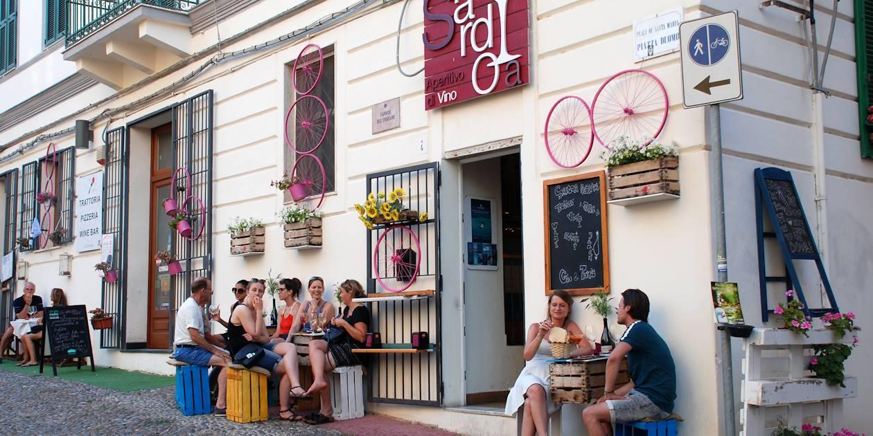 Dans les rue d'Alghero - Sardaigne - Italie