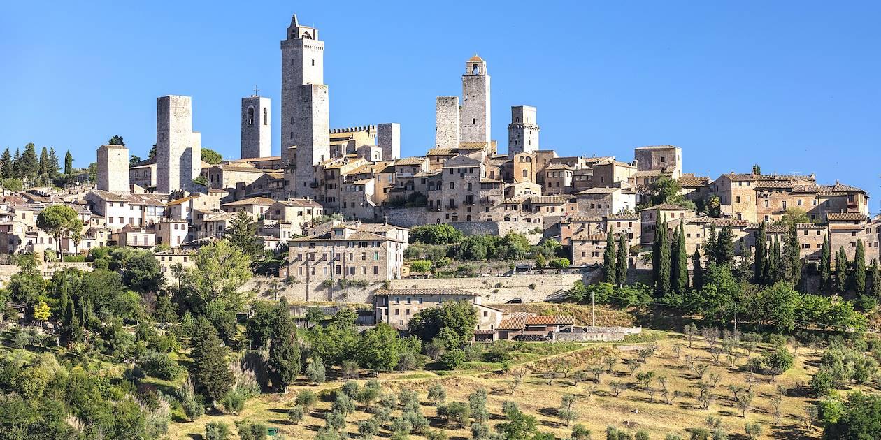 San Gimignano, classé patrimoine mondial de l'UNESCO - Toscane - Italie