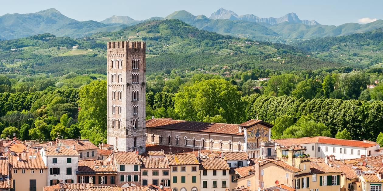 Basilique San Frediano à Lucques - Toscane - Italie
