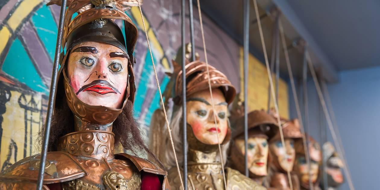 Marionnettes traditionnelles - Sicile - Italie