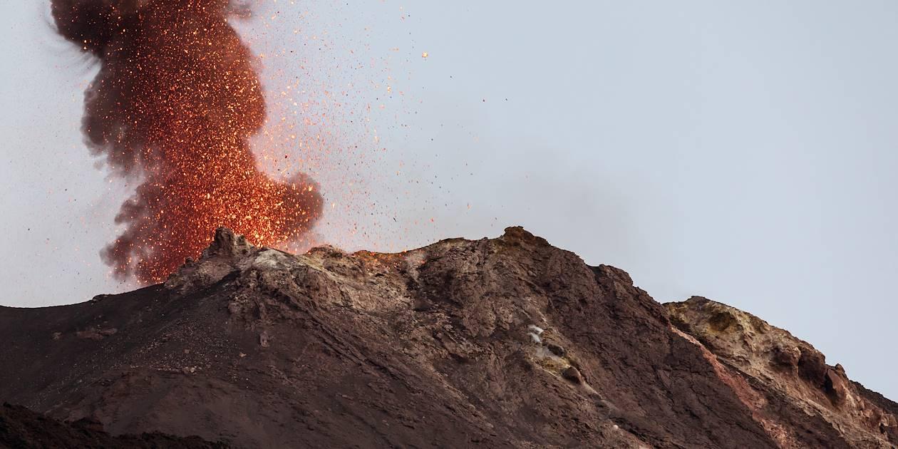 Volcan Stromboli - Îles Éoliennes - Sicile - Italie