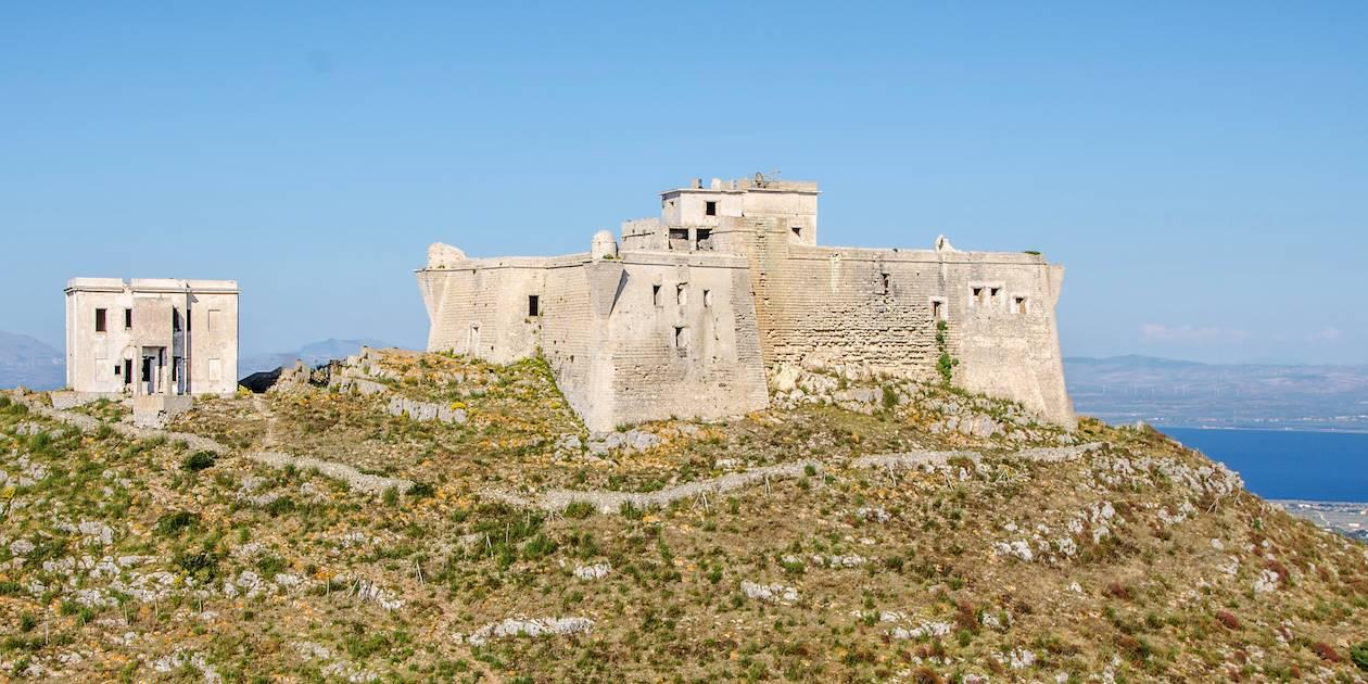 Fort Santa Caterina sur l'île Favignana - Sicile - Italie