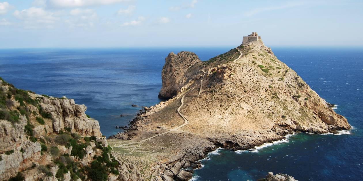 Punta Troia - Marettimo - Îles Égades - Sicile - Italie