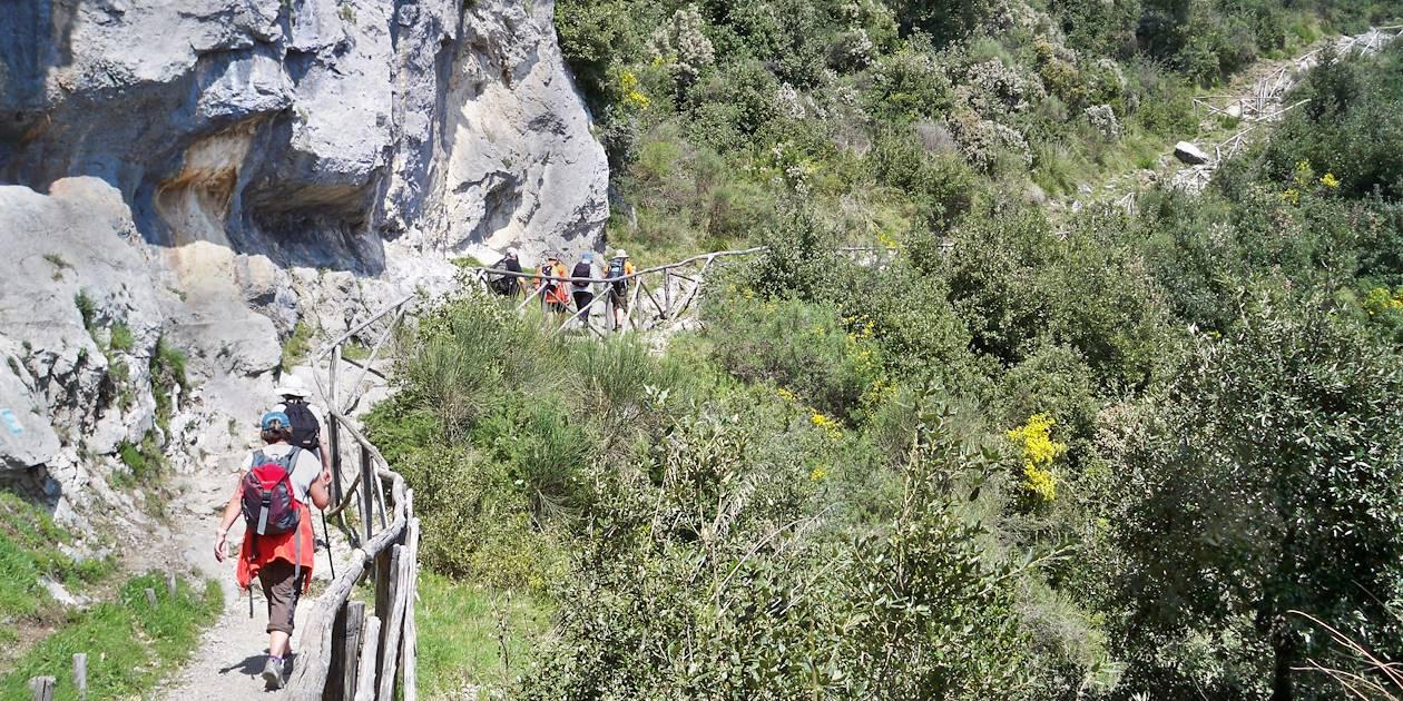 Sentier des dieux - Côte Amalfitaine - Italie