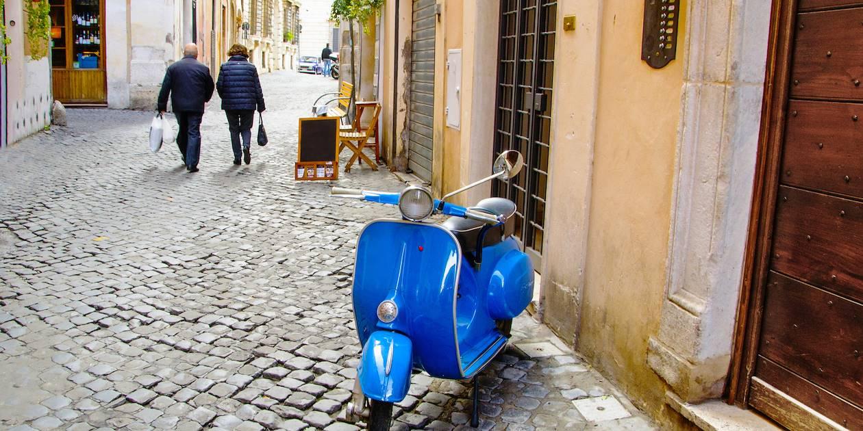 Scooter en Italie