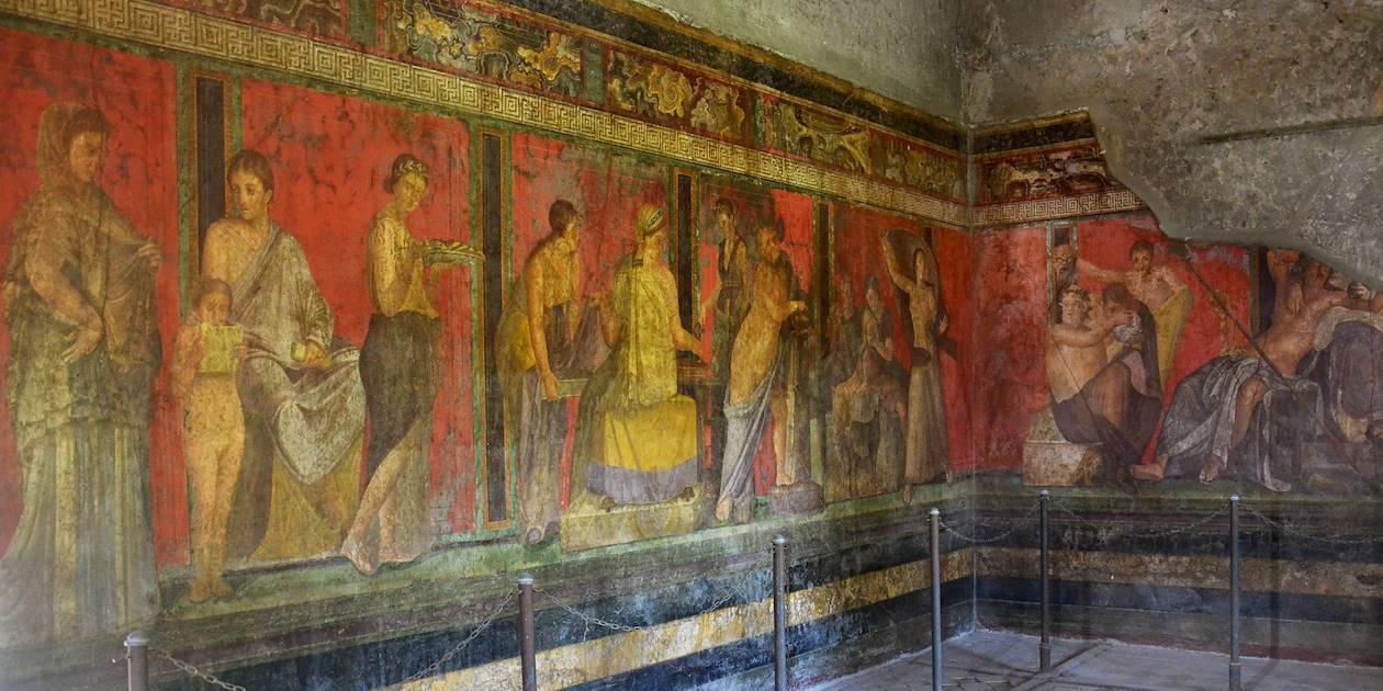Villa des Mystères - Pompéi - Italie