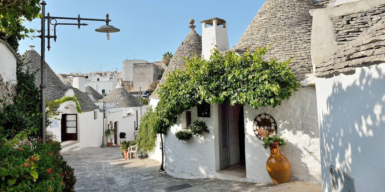 Alberobello - Province de Bari - Les Pouilles - Italie