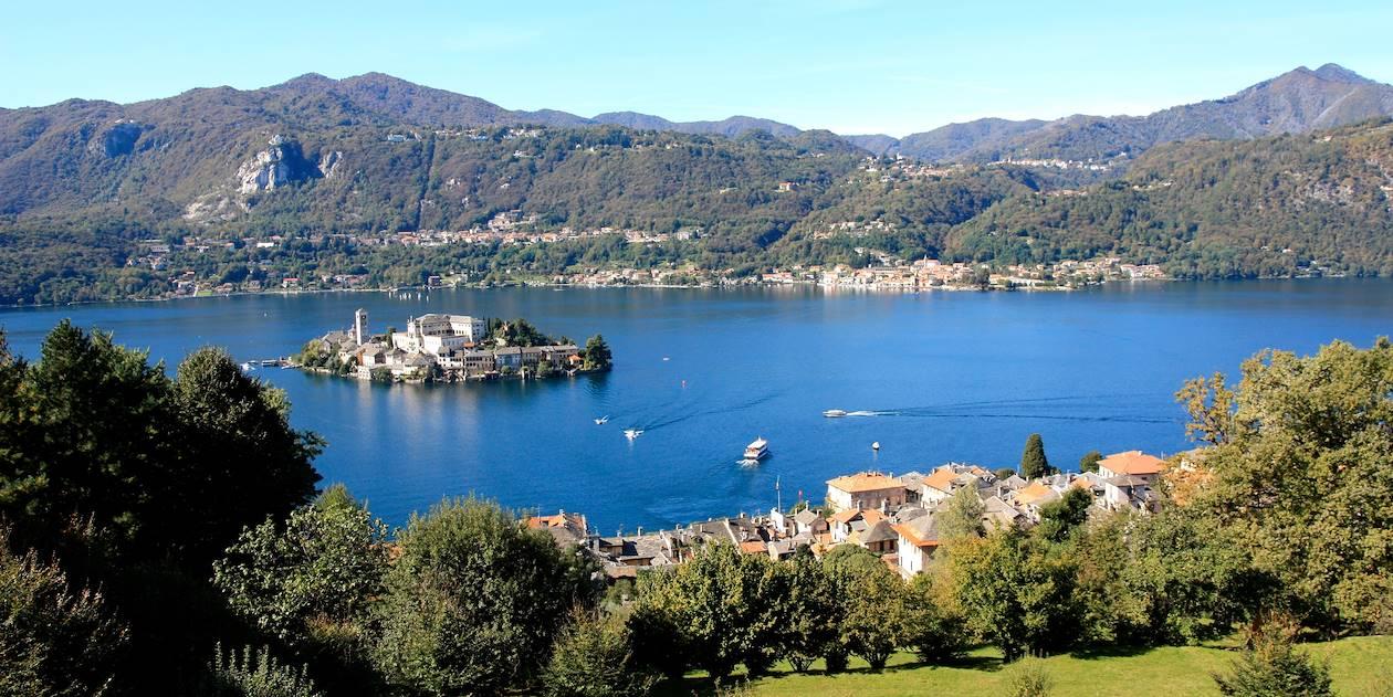Lac d'Orta et Orta San Giulio - Piémont - Italie