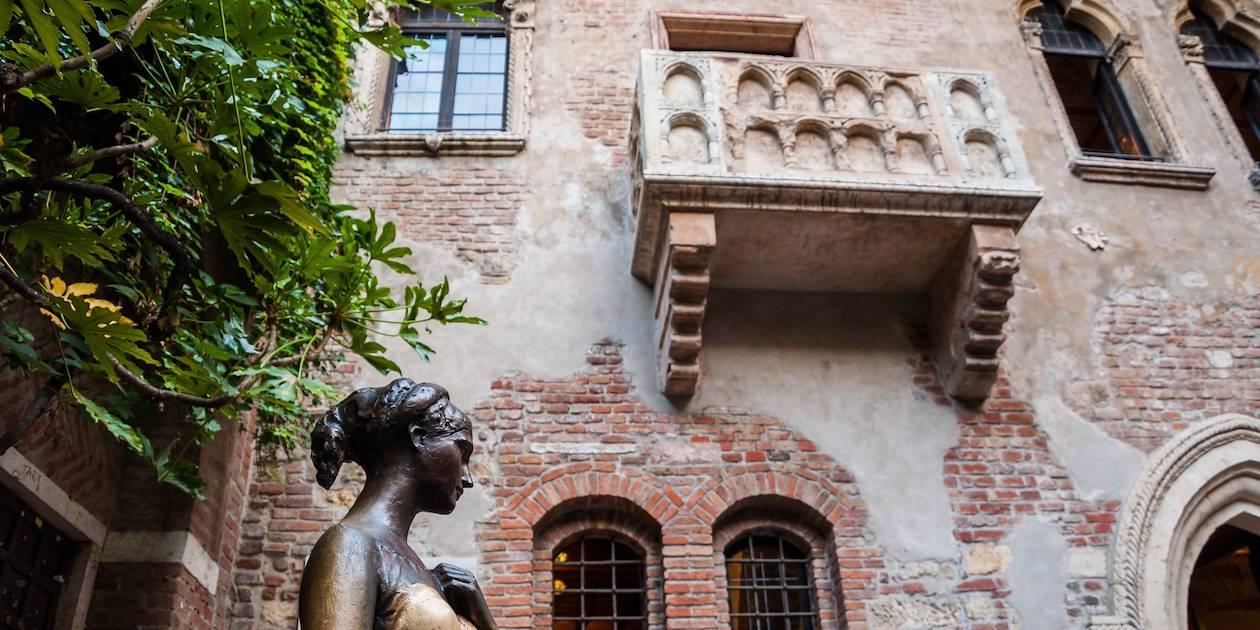 La balcon de Juliette - Vérone - Région de la Vénétie - Italie