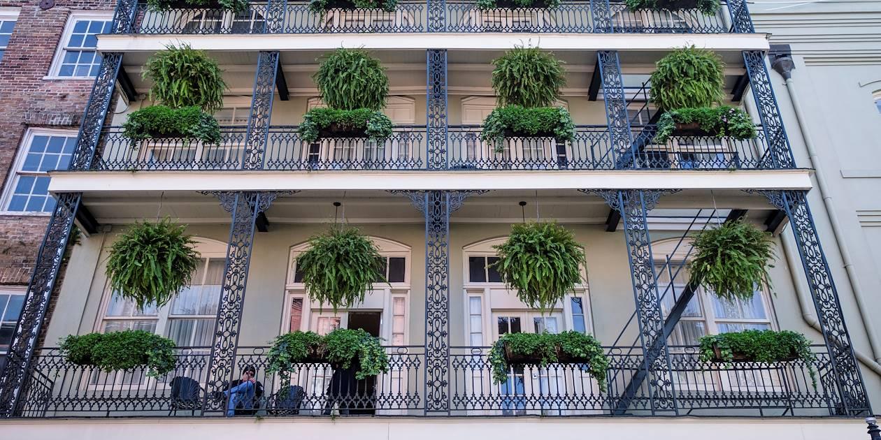 Façade du Bienville House Hotel - Nouvelle Orléans - Louisiane - Etats Unis