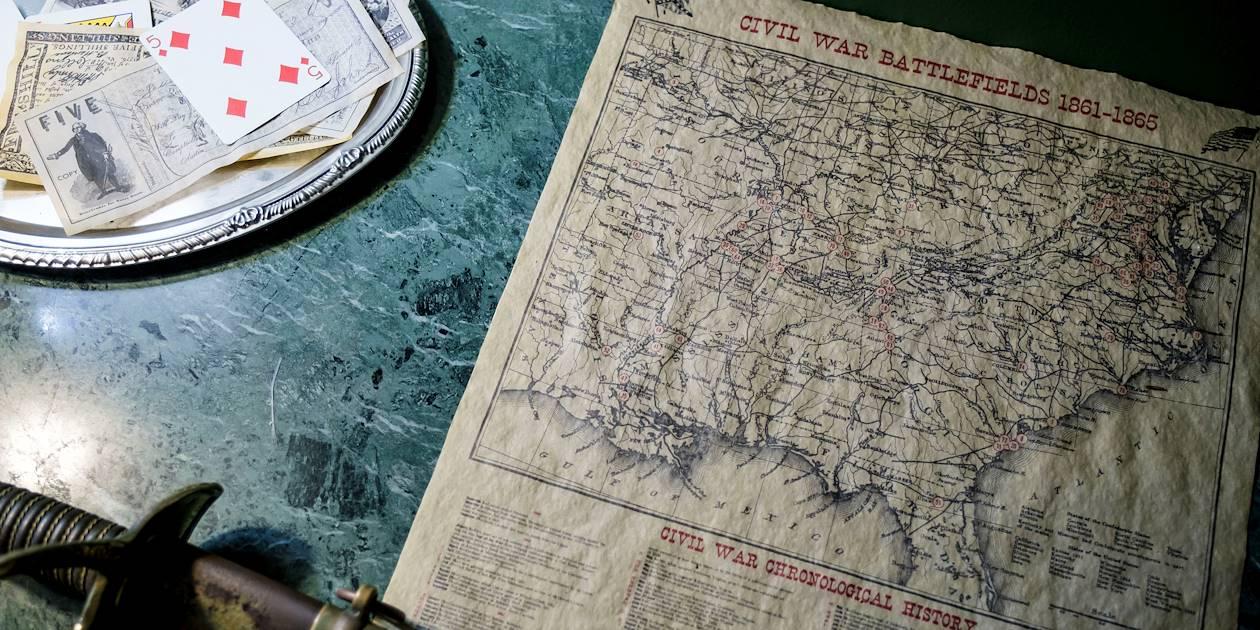 Sur la route des Plantations : la demeure Myrtles Plantation - St Francisville - Louisiane - Etats Unis