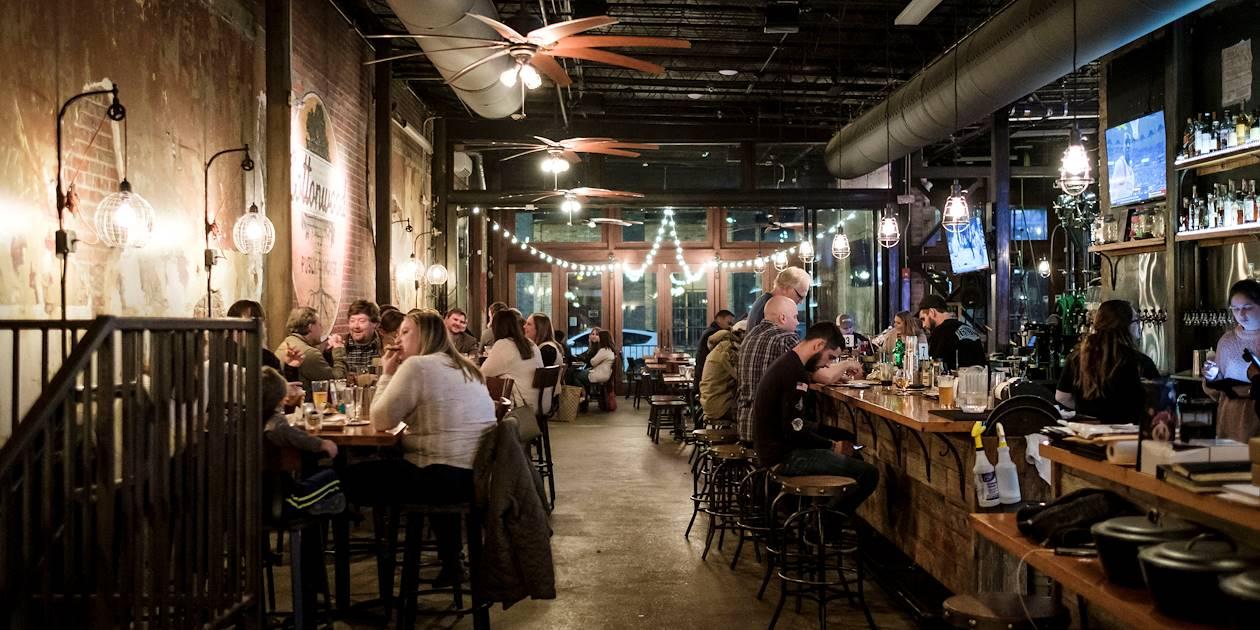 Dans un bar de Vicksburg - Mississippi - Etats Unis