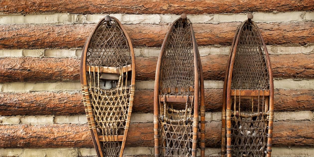 Raquettes traditionnelles - Alaska - Etats-Unis