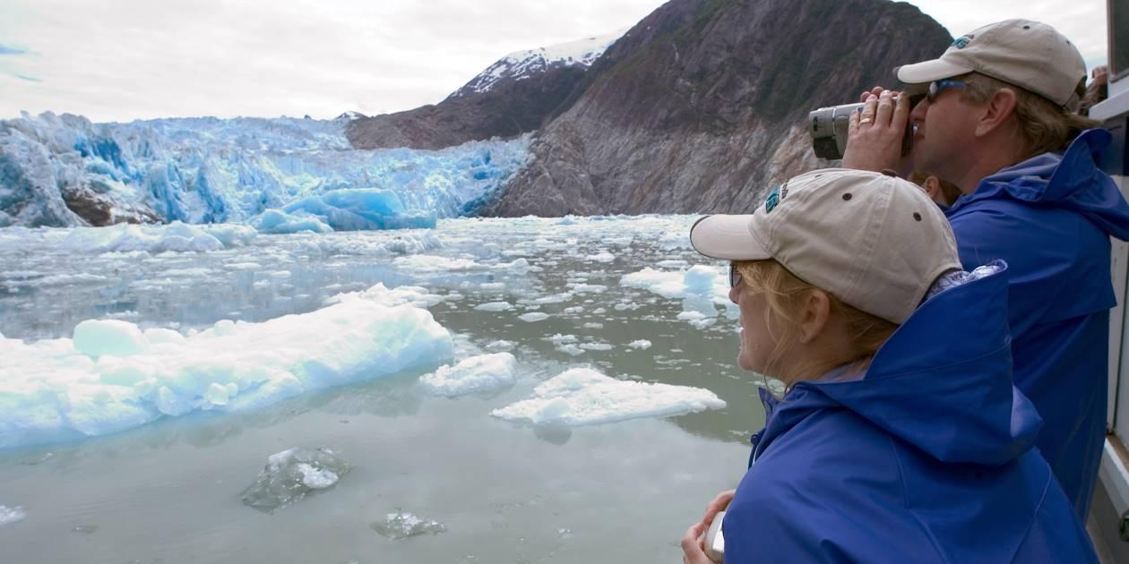 Tour en bateau sur le Fjord de tracy Arm - Alaska - Etats Unis