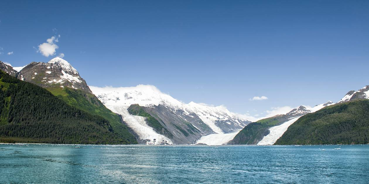 Baie du Prince-William - Alaska - Etats-Unis