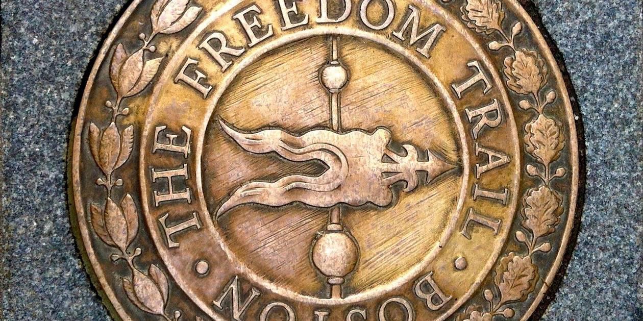 Le Freedom Trail à Boston - Massachusetts - Etats-Unis