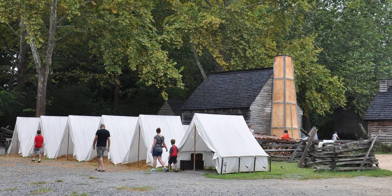 Reconstitution historique - Yorktown - Virginie - Etats Unis