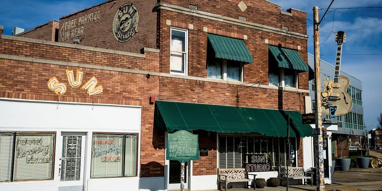 Sun Studio, lieu où Elvis Presley a enregistré ses plus grands tubes - Memphis - Tennessee - Etats Unis